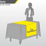Tischläufer mit Druck bestellen bei Tischmesse.ch