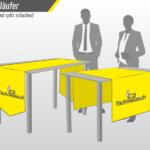Tischläufer Tischdecke Tischtuch Druck bedruckt online bestellen Shop