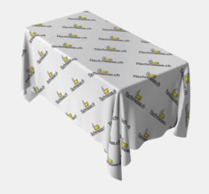 Tischdecken mit Druck selber gestalten Tischdecken