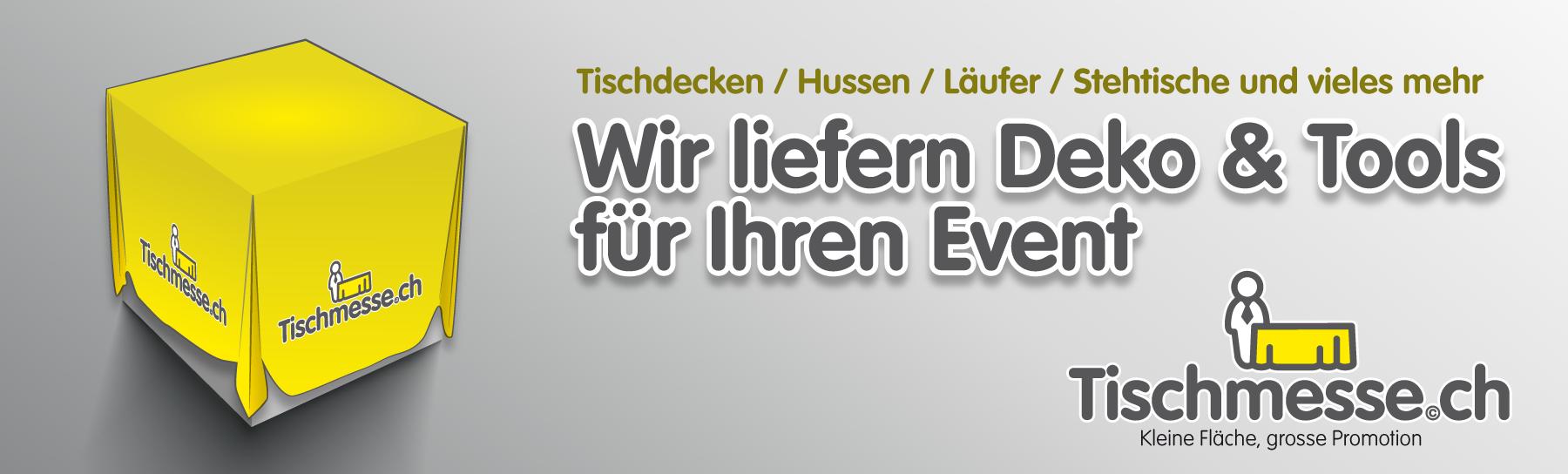 Tischmesse.ch - Ihr Lieferant von Event-Technik für Tischmessen