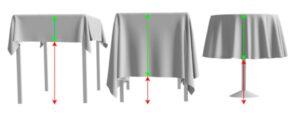 Tischdecke mit Druck bestellen Druckerei Textil bedruckt online bestellen Shop