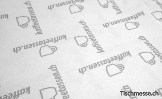 Zellstoff Tischdecke